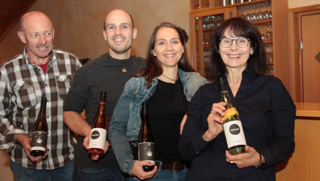 Familie_Schubertin der WeinWerkstatt