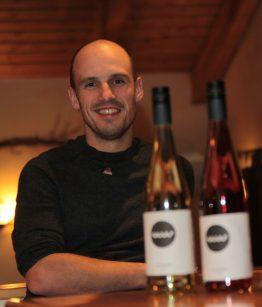 Sebastian Schubert in der WeinWerkstatt